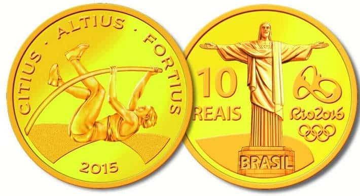 moedas olimpiadas todas