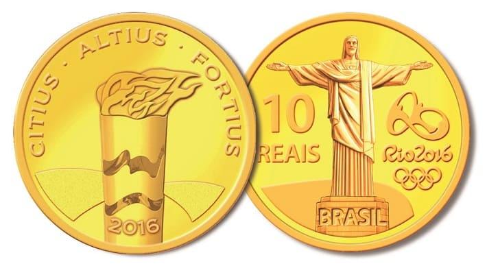 moedas olimpiadas onde vender