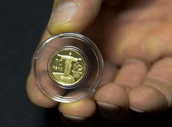 são quantas moedas das olimpiadas