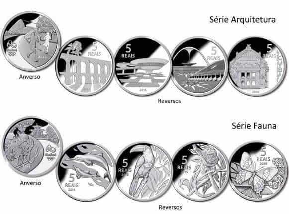 album moedas olimpiadas