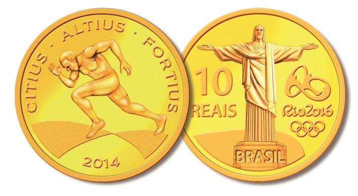 moedas olimpiadas quanto vale