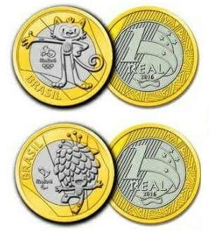 moedas de real valiosas