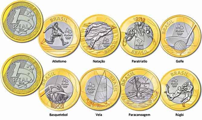 moeda real rara